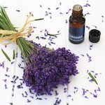 Lavender flowers and lavender essential oil - Easy ways to use essential oils, by Adrienne Wyper