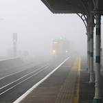 Train arriving in fog - How to claim refunds for train delays, by Adrienne Wyper
