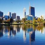 Perth skyline - Pick Perth for a city break, by Adrienne Wyper