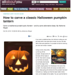 Allaboutyou: how to carve a Halloween pumpkin lantern