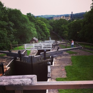 Bingley five-rise locks