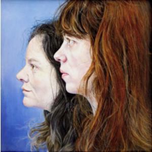 Les Amies, by Ishbel Myerscough