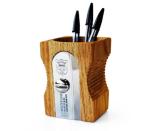 Giant pencil sharpener pen pot