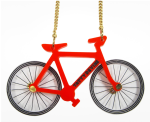 Tatty Devine bike necklace